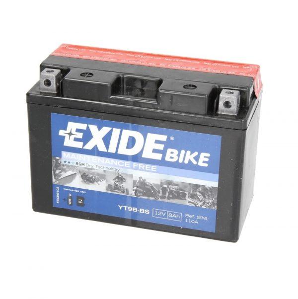 Akumulators EXIDE STANDARD YT9B-BS EXIDE