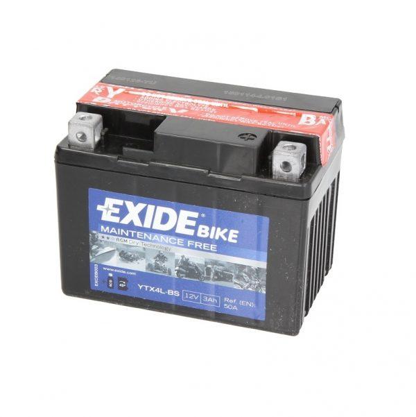 Akumulators EXIDE STANDARD YTX4L-BS EXIDE