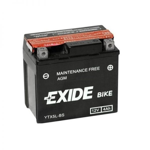 Akumulators EXIDE STANDARD YTX5L-BS EXIDE