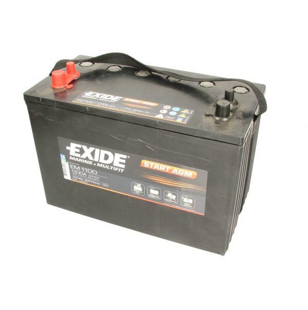 Akumulators START AGM EM1100