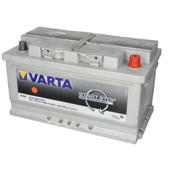 Akumulators VARTA EFB VA575500073