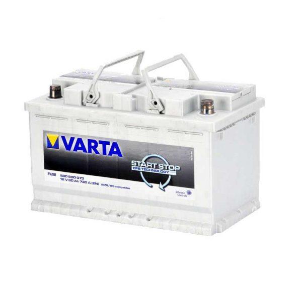 Akumulators VARTA EFB VA580500073