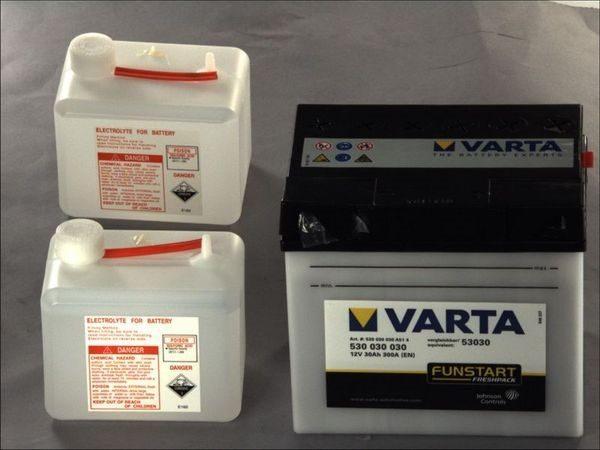 Akumulators VARTA POWERSPORT AGM 53030 VARTA FUN