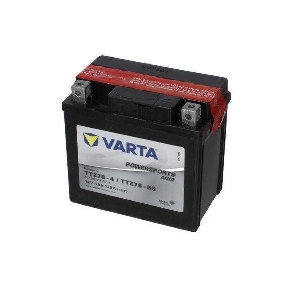 Akumulators VARTA POWERSPORT AGM TTZ7S-BS VARTA FUN