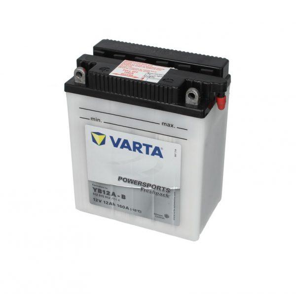 Akumulators VARTA POWERSPORT AGM YB12A-B VARTA FUN
