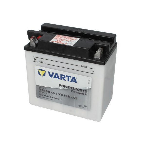Akumulators VARTA POWERSPORT AGM YB16B-A VARTA FUN