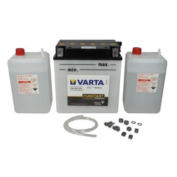 Akumulators VARTA POWERSPORT AGM YB30L-B VARTA FUN