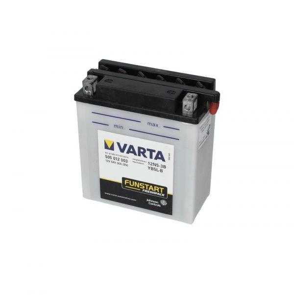 Akumulators VARTA POWERSPORT AGM YB5L-B VARTA FUN