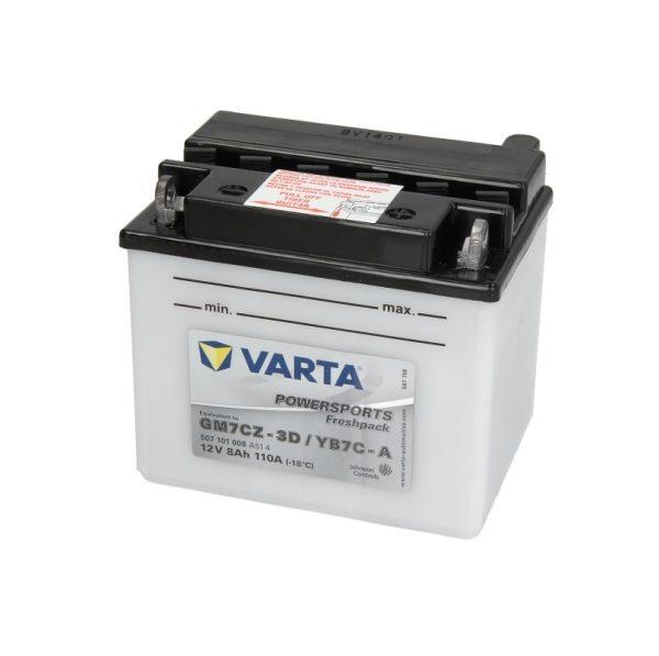 Akumulators VARTA POWERSPRT AGM YB7C-A VARTA FUN