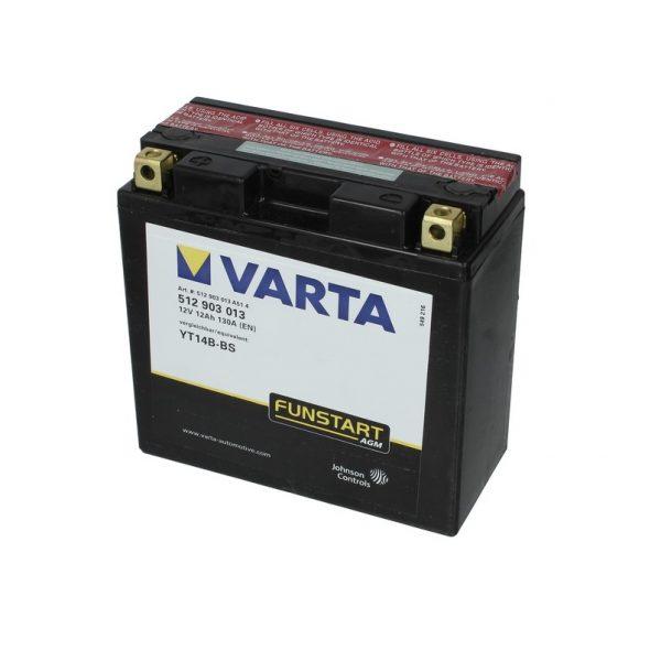 Akumulators VARTA POWERSPORT AGM YT14B-BS VARTA FUN