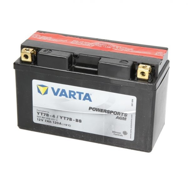Akumulators VARTA POWERSPORT AGM YT7B-BS VARTA FUN