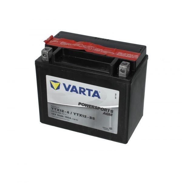 Akumulators VARTA POWERSPORT AGM YTX12-BS VARTA FUN