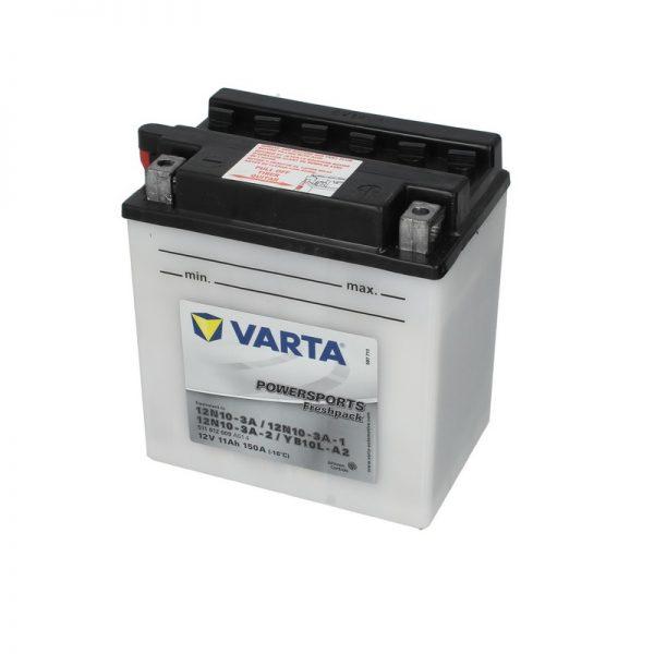 Akumulators VARTA POWERSPORT AGM 12N10-3A VARTA FUN
