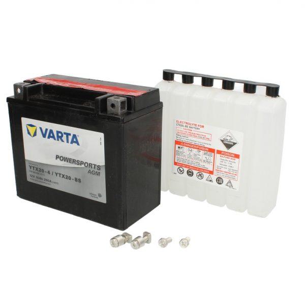 Akumulators VARTA POWERSPORTS AGM YTX20-BS VARTA FUN