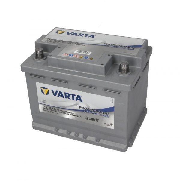 Akumulators VARTA PROFESSIONAL DUAL PURPOSE AGM VA840060068