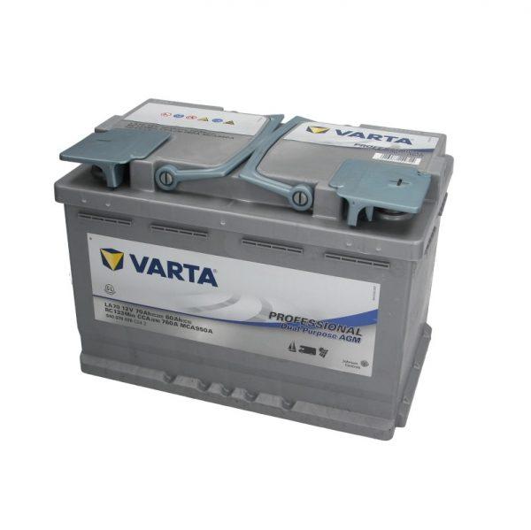 Akumulators VARTA PROFESSIONAL DUAL PURPOSE AGM VA840070076
