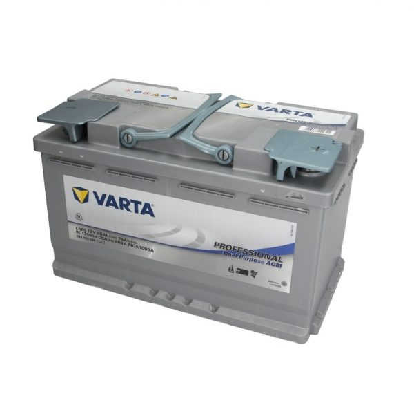 Akumulators VARTA PROFESSIONAL DUAL PURPOSE AGM VA840080080
