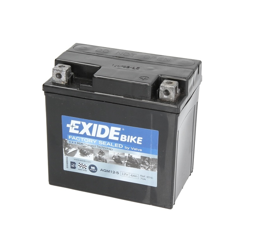 Akumulators YTX5L-BS EXIDE AGM