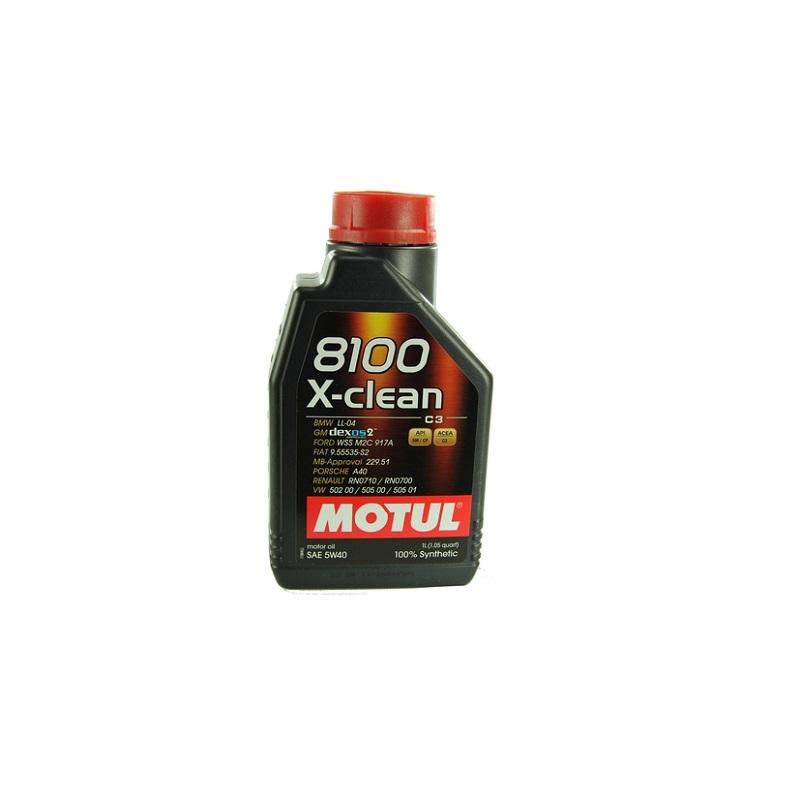 Motoreļļa 8100 X-CLEAN 5W40 C3 1L