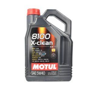 Motoreļļa 8100 X-CLEAN 5W40 C3 4L