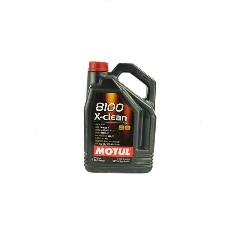 Motoreļļa 8100 X-CLEAN 5W40 C3 5L