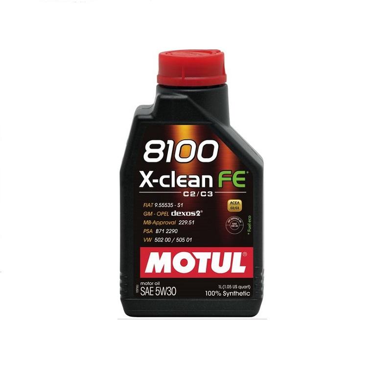 Motoreļļa 8100 X-CLEAN 5W30 1L