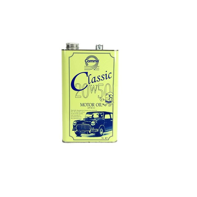 Motoreļļa CLASSIC MOT.OIL 20W50 5L