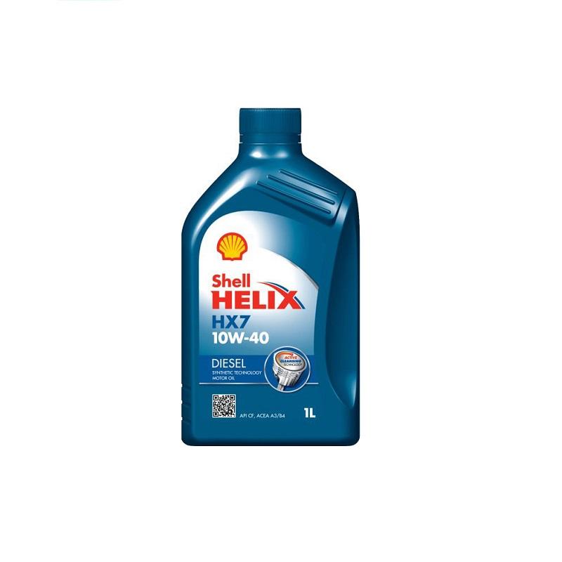 Motoreļļa HELIX D HX7 10W40 1L