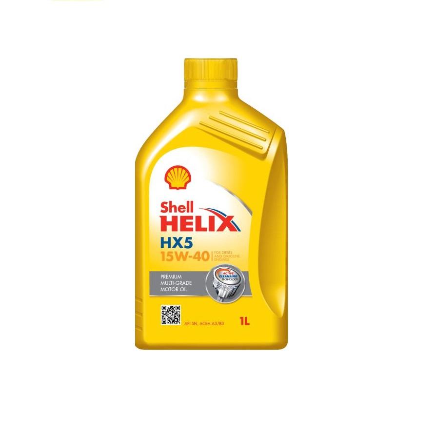 Motoreļļa HELIX HX5 15W40 1L