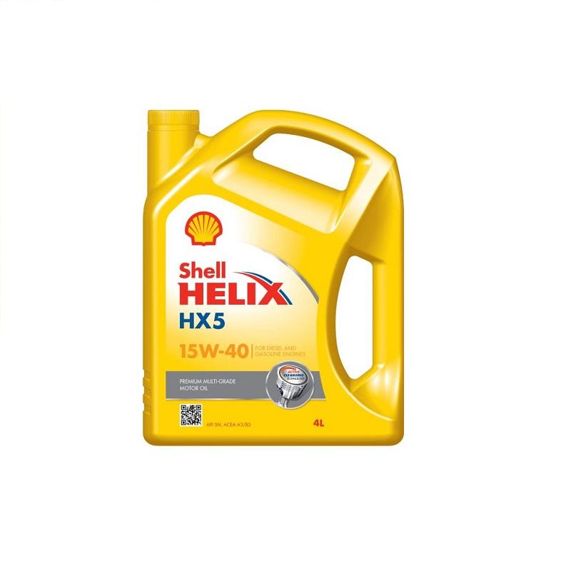 Motoreļļa HELIX HX5 15W40 4L