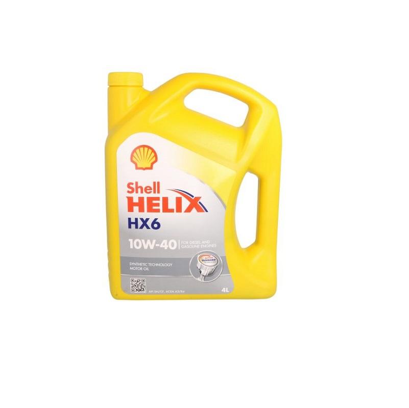 Motoreļļa HELIX HX6 10W40 4L