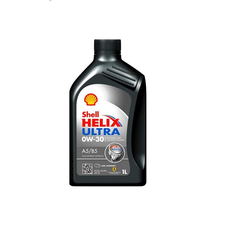 Motoreļļa HELIX ULTRA A5/B5 0W30 1L
