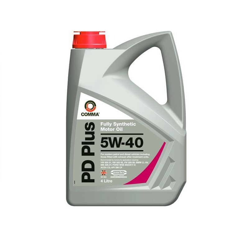 Motoreļļa PD PLUS 5W40 4L