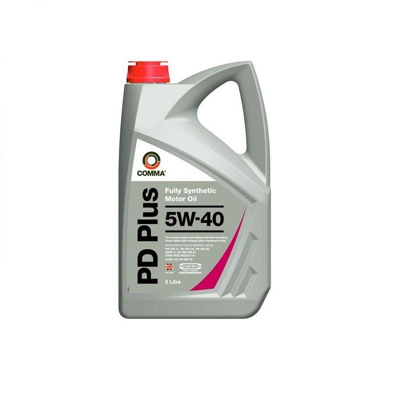 Motoreļļa PD PLUS 5W40 5L