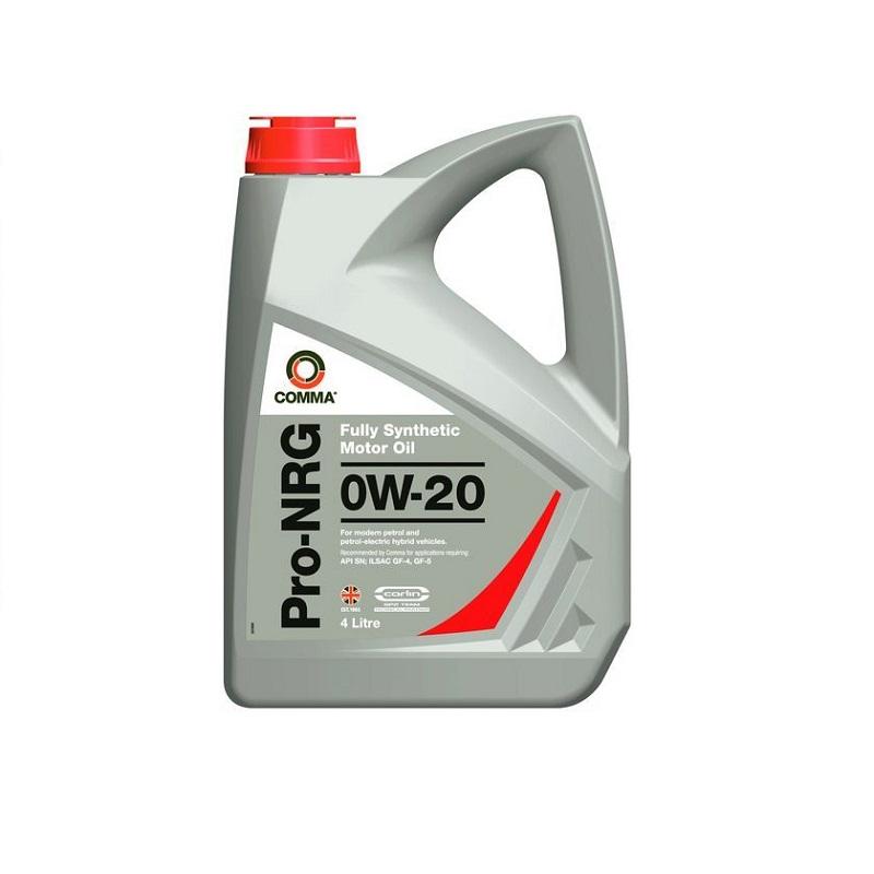 Motoreļļa PRO-NRG 0W20 4L